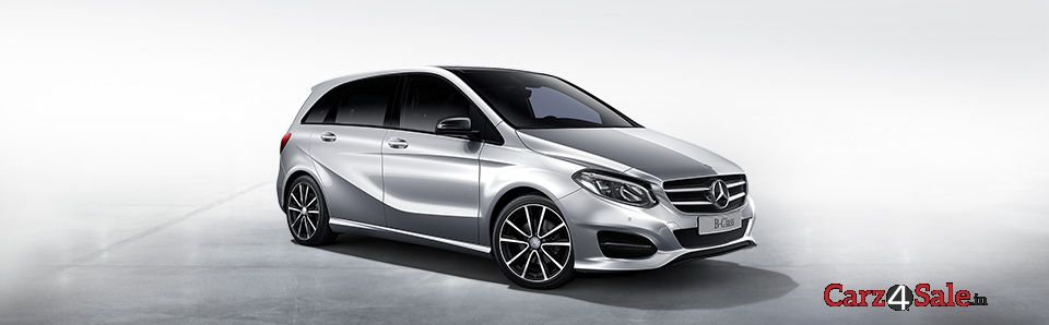 mercedes benz b class launched with a new sporty look. Black Bedroom Furniture Sets. Home Design Ideas