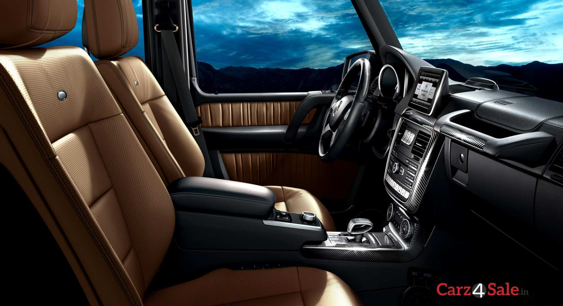 Mercedes Benz G63 Interior