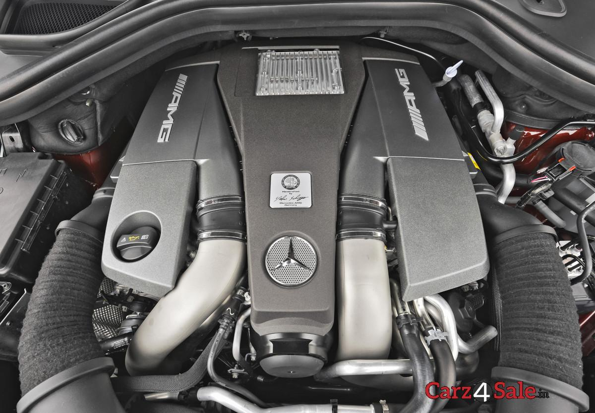 Mercedes Benz Gl 63 Amg Engine