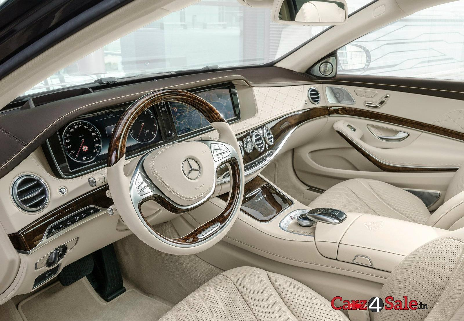Mercedesmaybach S600 Drivers Cabin Front