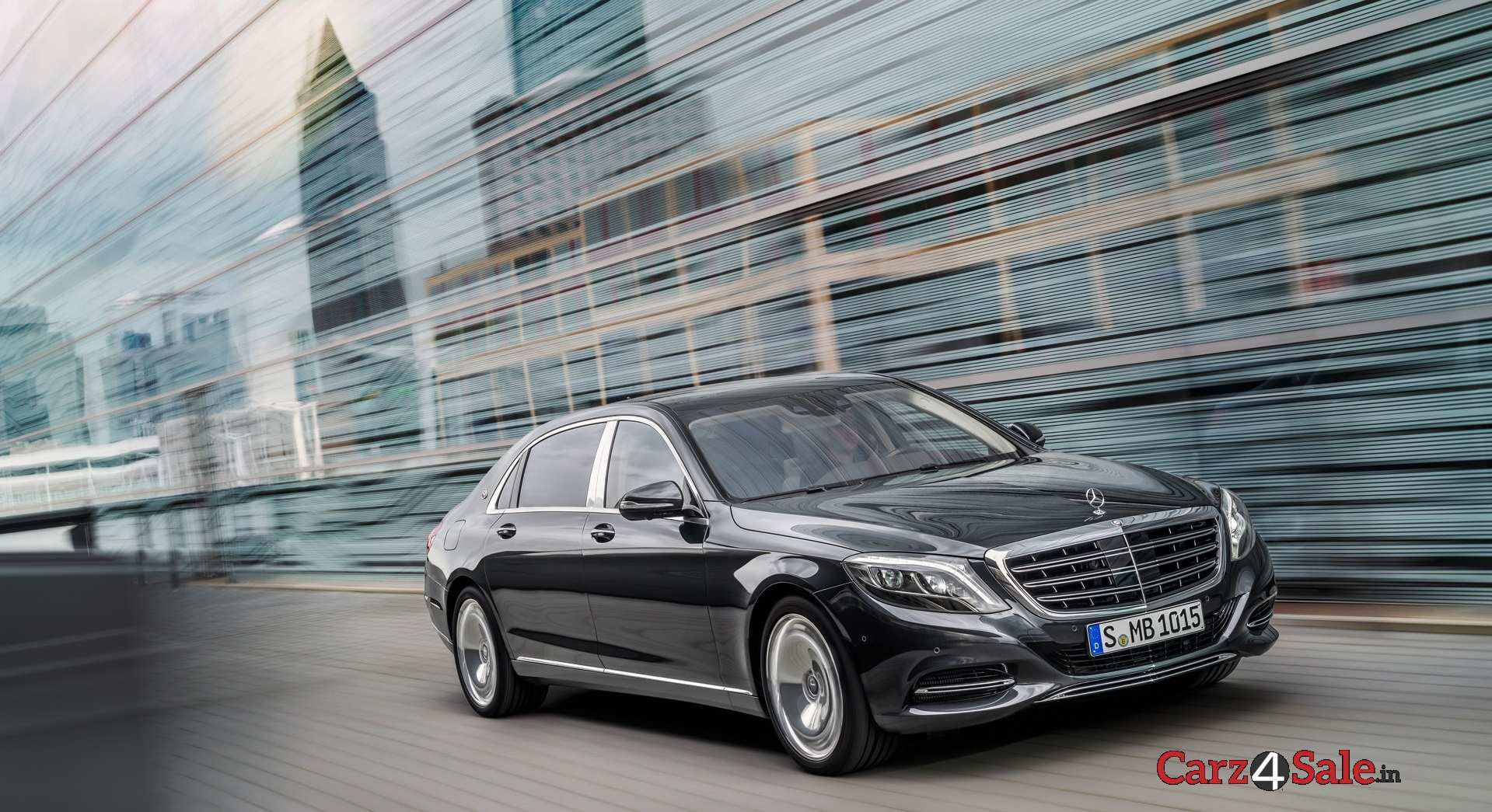 Mercedesmaybach S600 Front