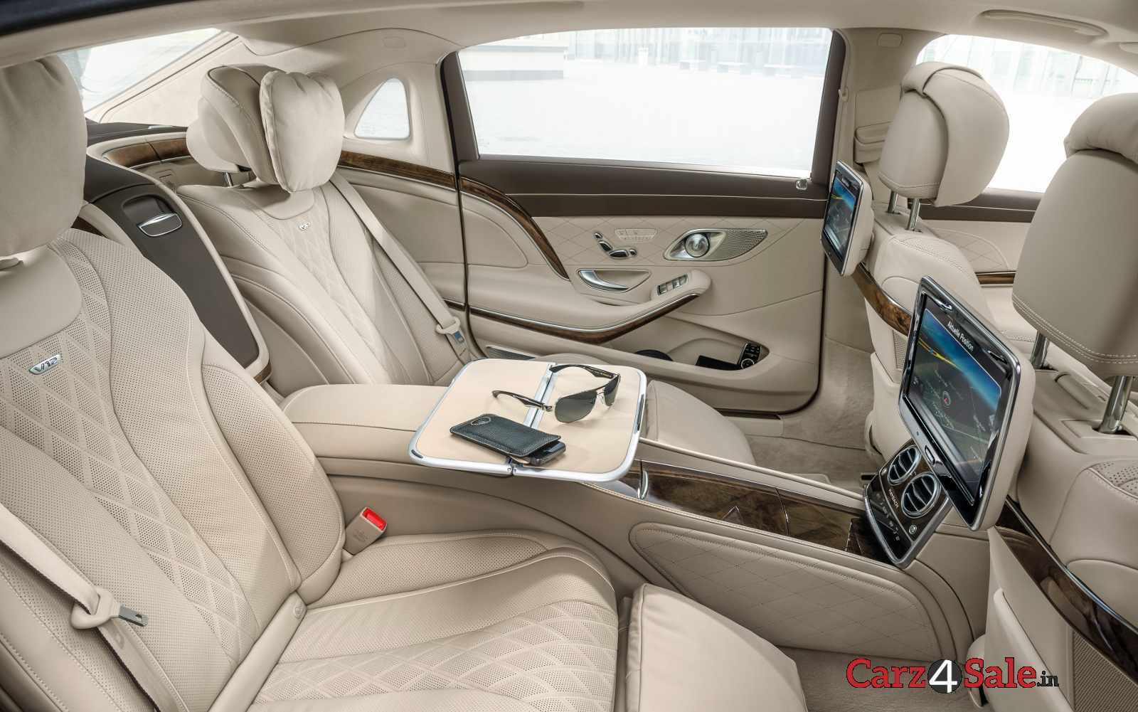 Mercedesmaybach S600 Rear Seats