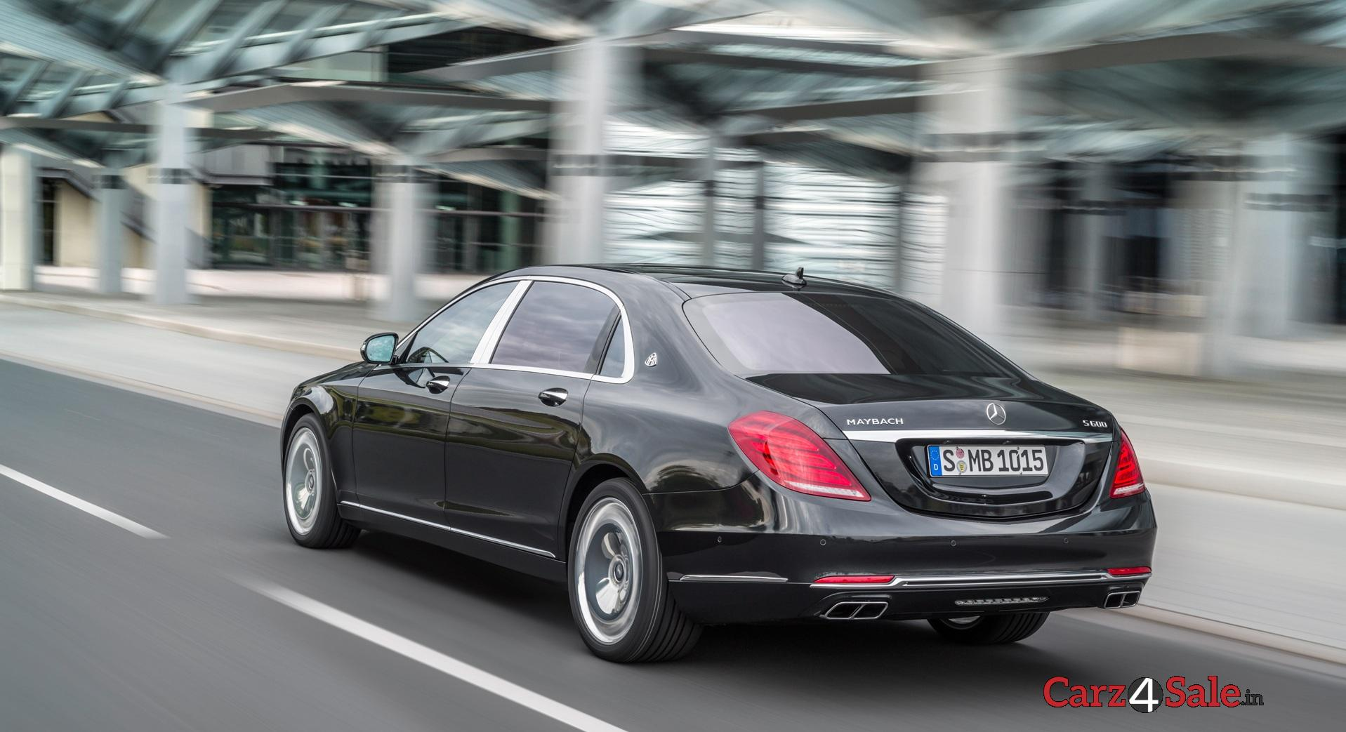 Mercedesmaybach S600 Rear