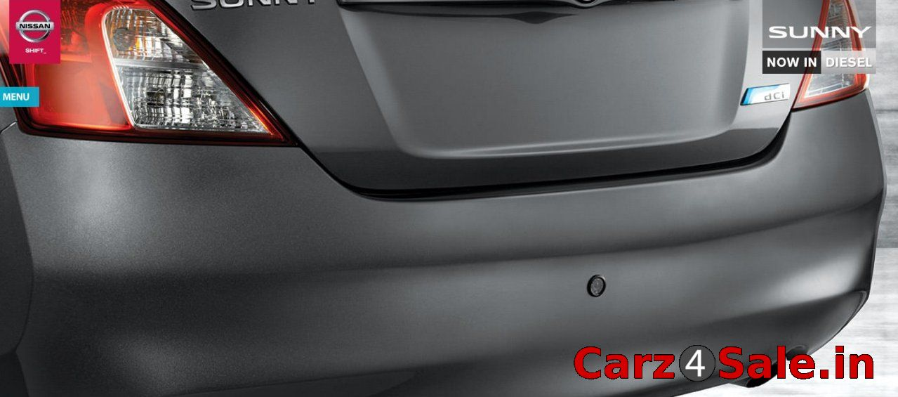 Nissan Sunny Special Edition rear parking camera