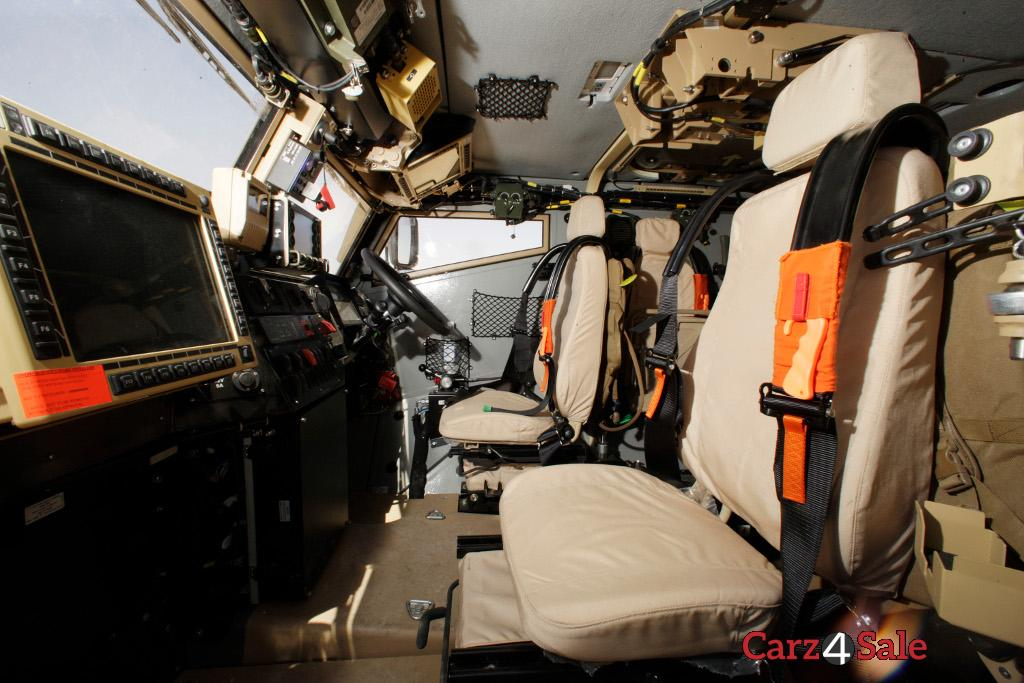 Oshkosh L Atv Interior Left Side