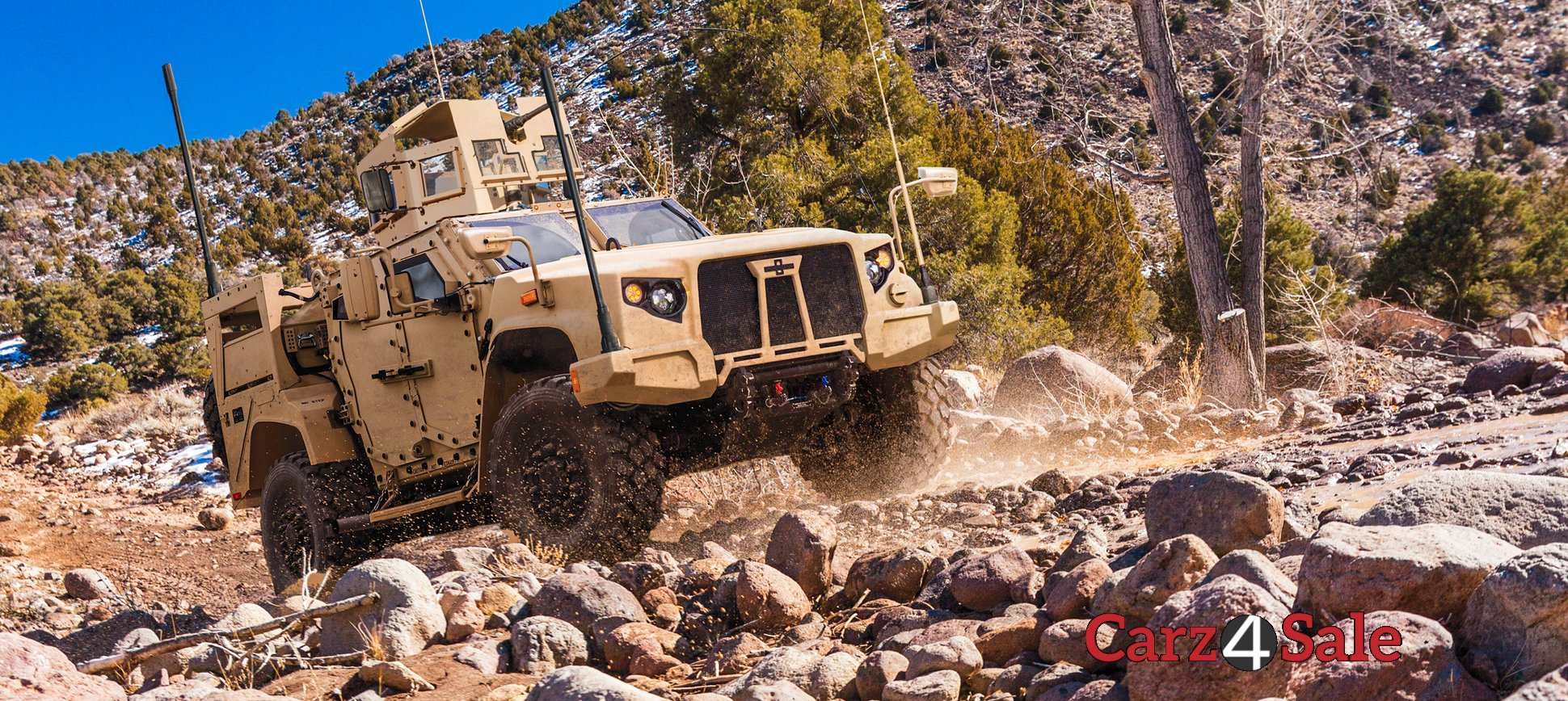 Oshkosh L Atv Off Roading