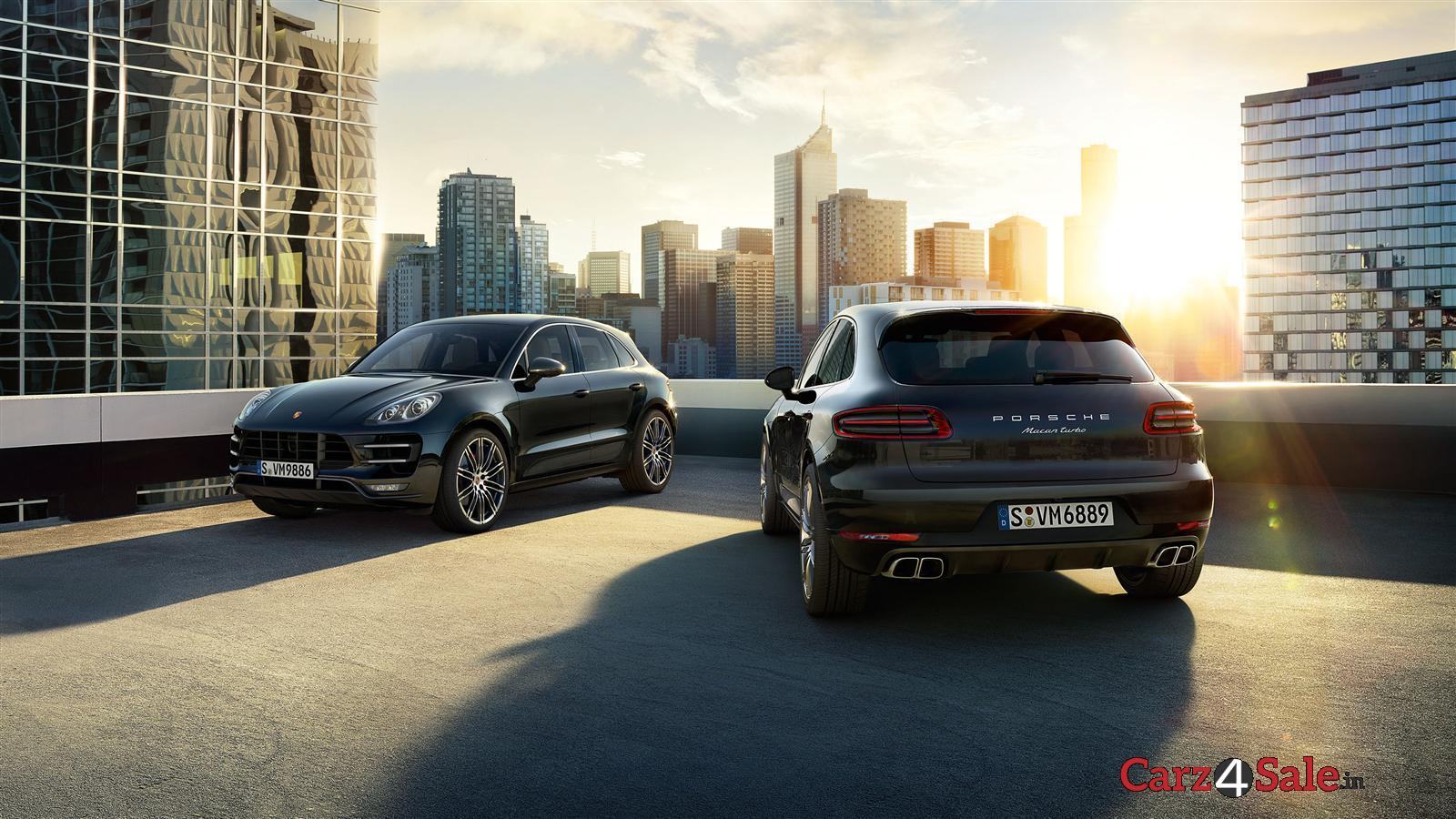 Porsche Macan Front And Rear