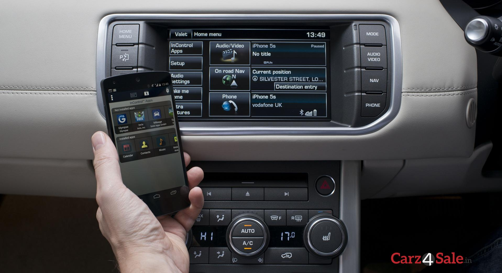 Range Rover Evoque Autobiography In Control Apps Connectivity