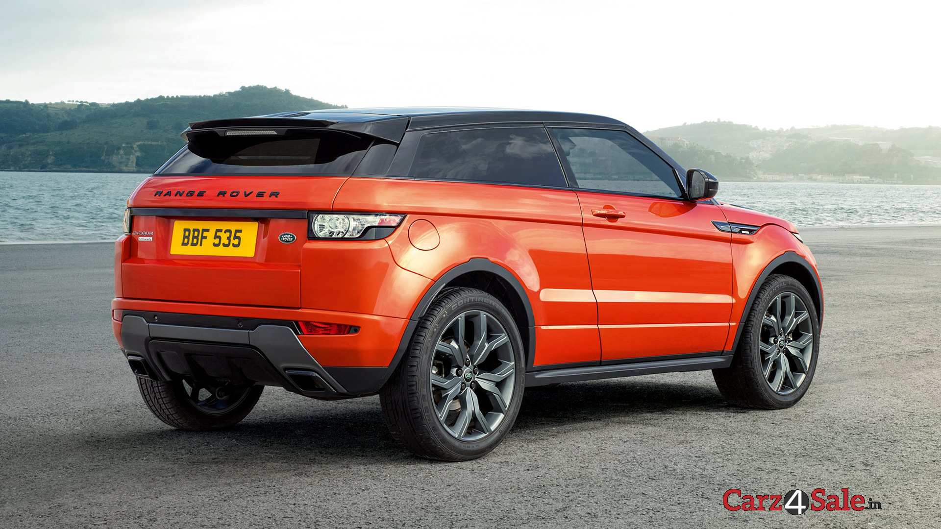 the all new range rover evoque autobiography luxurious and a premium feeling suv carz4sale. Black Bedroom Furniture Sets. Home Design Ideas