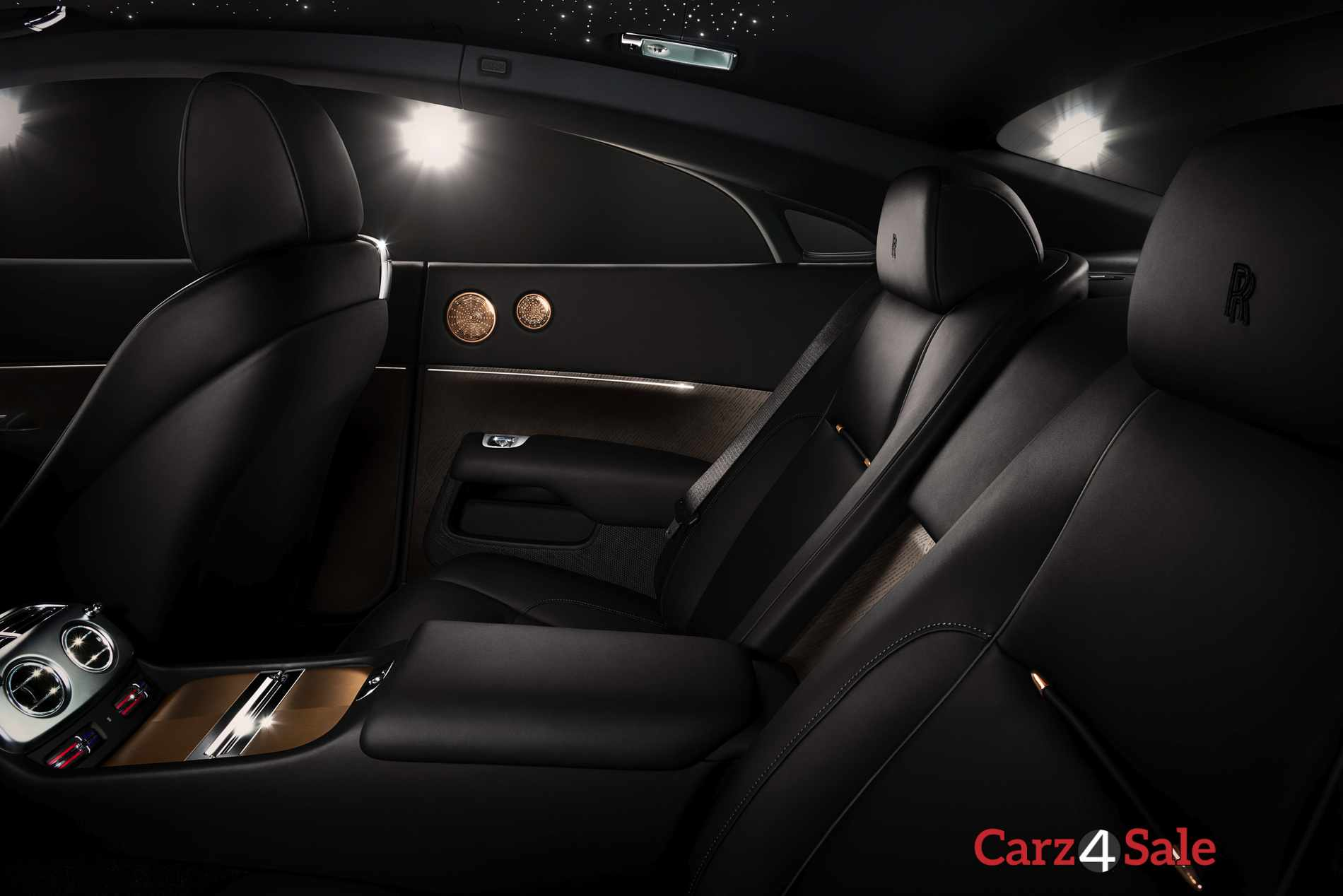 Rolls Royce Wraith Inspired By Music Rear Seats