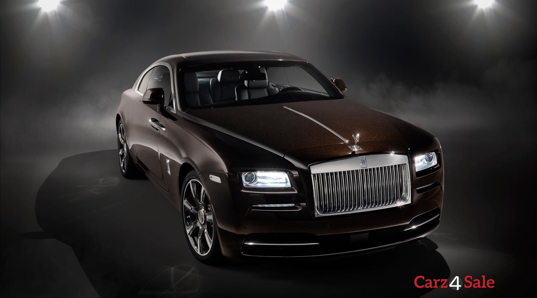 Rolls Royce Wraith Inspired By Music Vehicle Front Right View