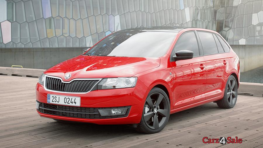 Skoda Rapid Spaceback Scoutline Front View Left