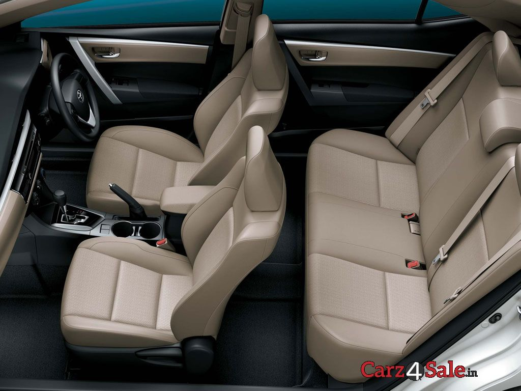 Toyota Corolla Altis Interior Top View