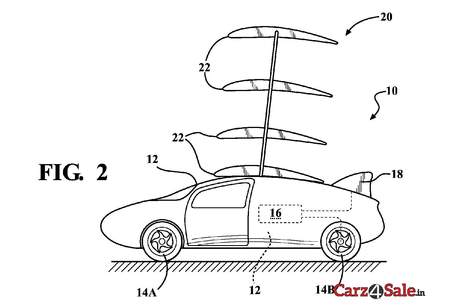Toyota Flying Car Patent Retracted