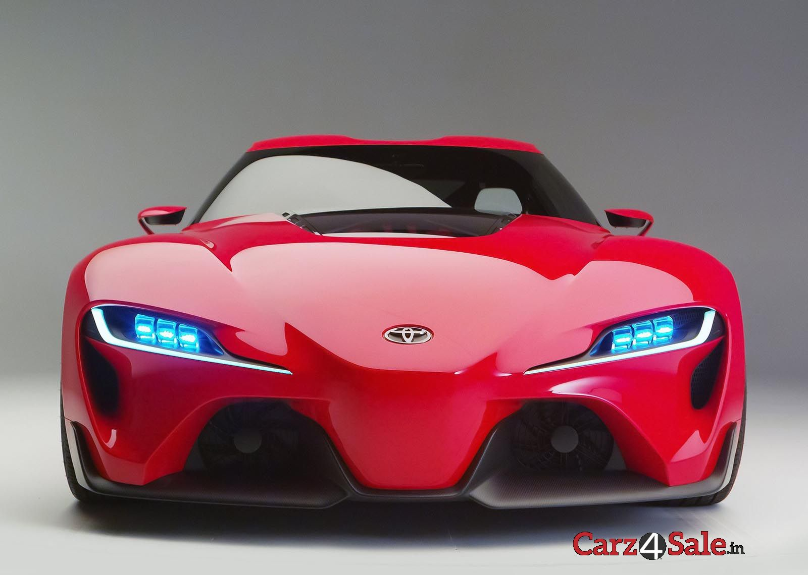 Toyota Ft 1 Front