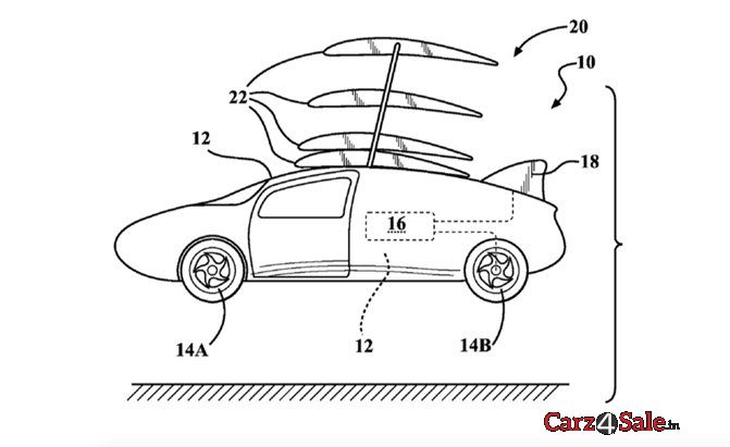 Toyota Patent Wing