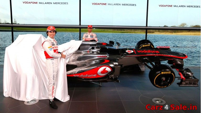 Vodafone McLaren Mercedes MP4-28 launch