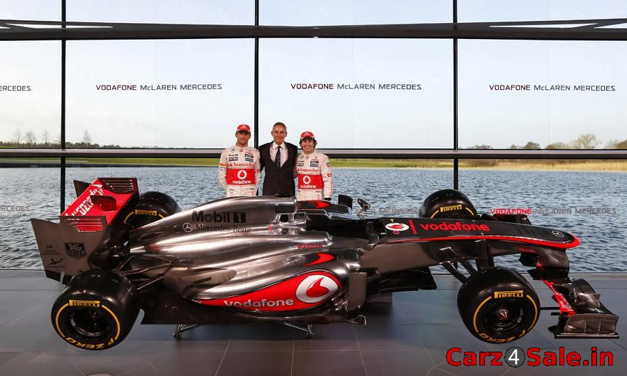 Vodafone McLaren Mercedes MP4-28