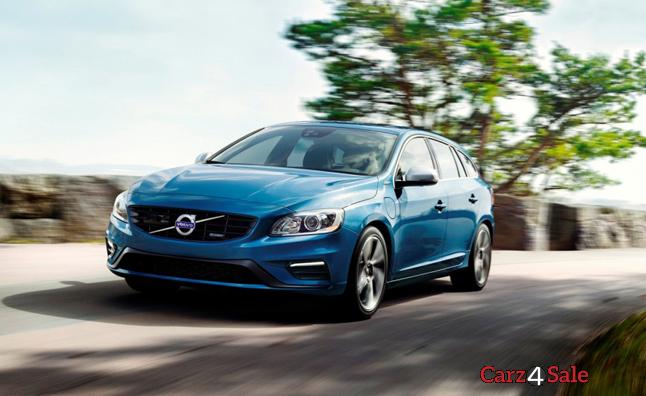Volvo V60 On Road
